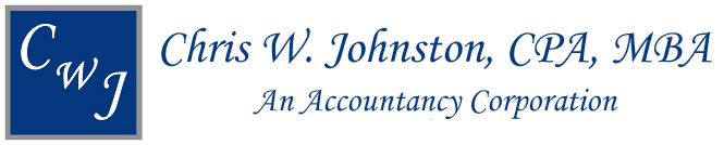 Chris W. Johnston, CPA, MBA